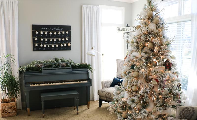 Simple Christmas Home Tour