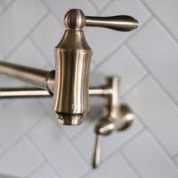 Kitchen Faucet & Installing a Pot Filler