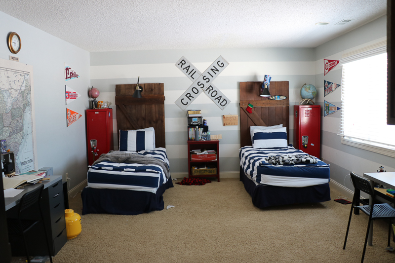 Boys Bedroom Makeover with The RoomPlace - Sincerely, Sara D.