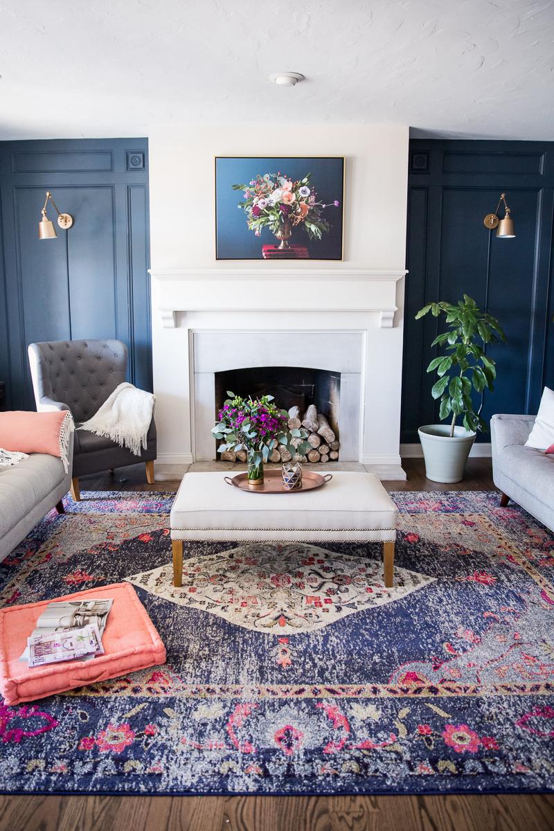 Best DIY Project - Elegant wall treatment