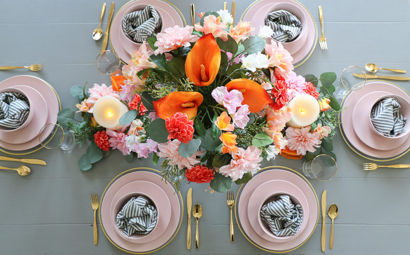 Easter Tablescape   Spring with Balsam Hill