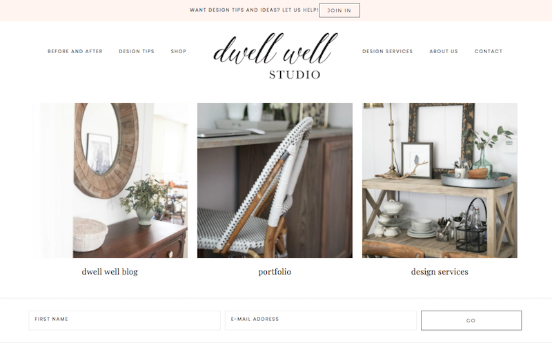 Dwell Well Studio Design Services