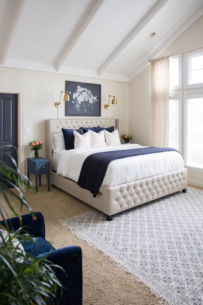 Master bedroom makeover with the roomplace sincerely - The room place bedroom furniture ...