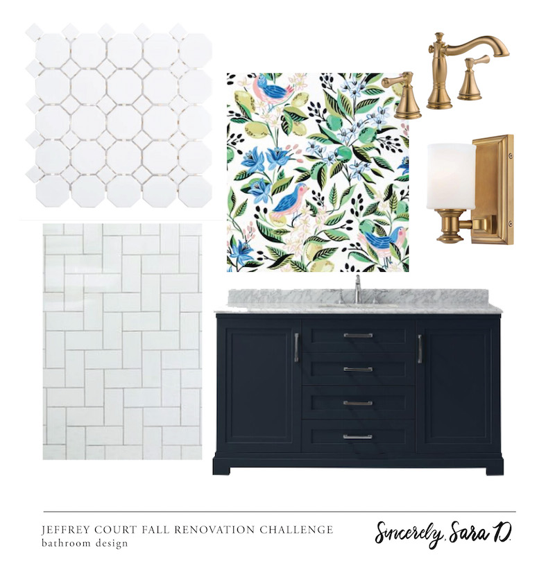 Bathroom Remodel Week 5 | Design Board