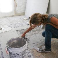 Bathroom Remodel Week 2 | Installing Cement Board