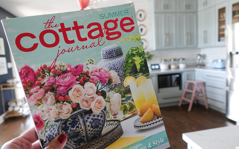 Kitchen Feature in The Cottage Journal