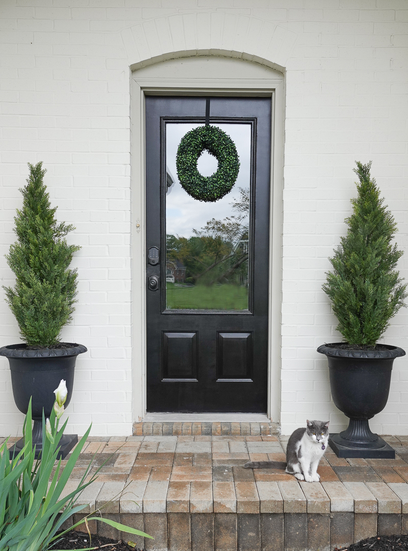 How to Paint Exterior Doors