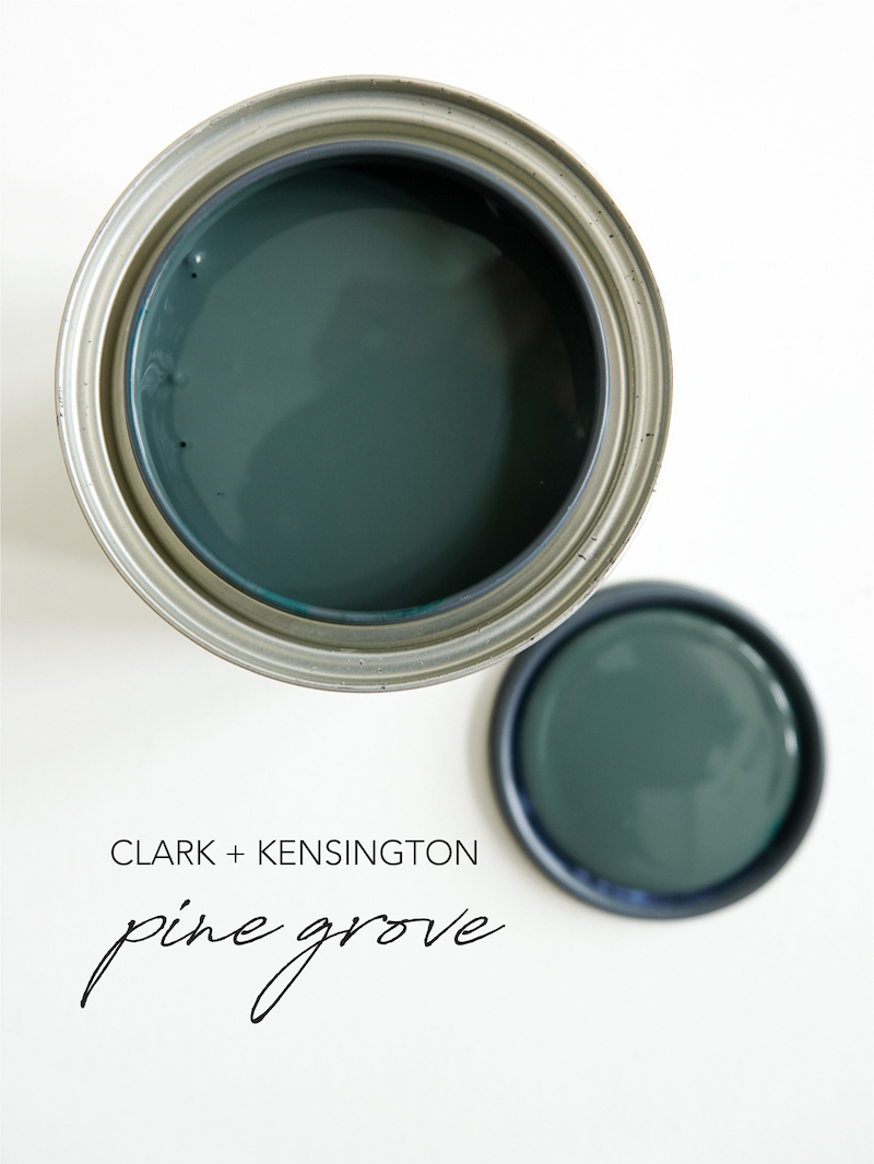 The Perfect Moody Green Paint Color