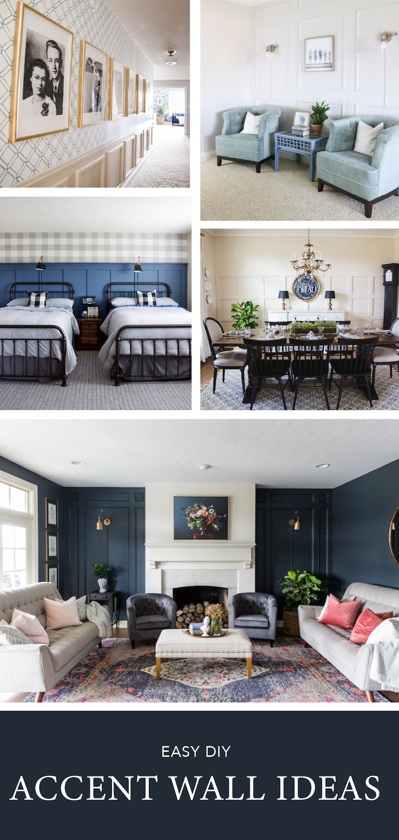 Diy Accent Wall Ideas Sincerely Sara D Home Decor Diy Projects