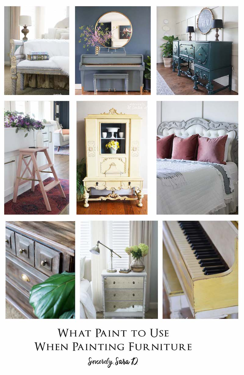 What Paint to Use When Painting Furniture