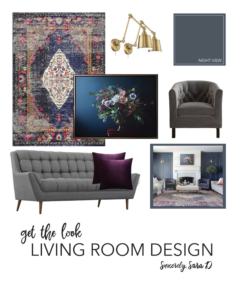 Get the Look: Living Room Decor