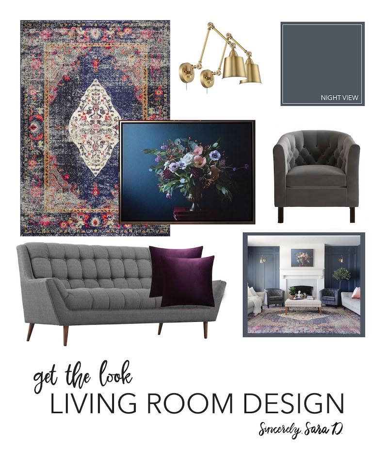 Get the Look: Living Room Design