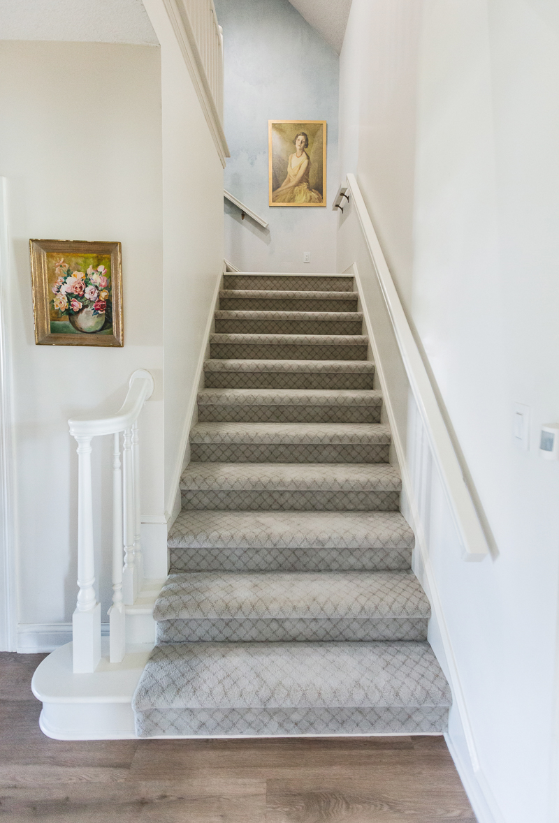How to Paint a Stair Railing