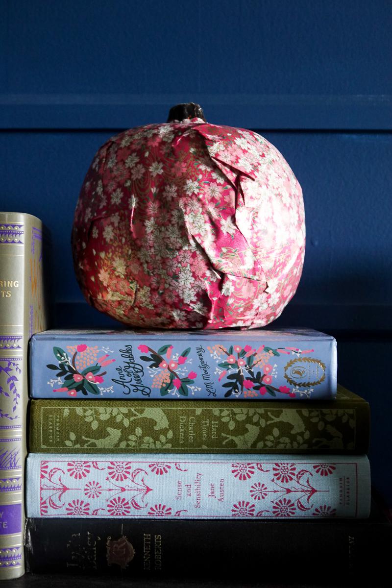 Tissue Pumpkin Craft
