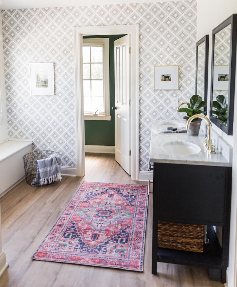 Boys Bathroom Remodel