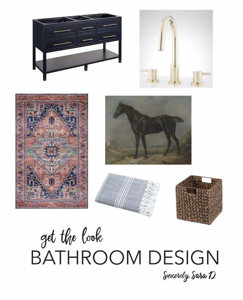 Get the look: bathroom design